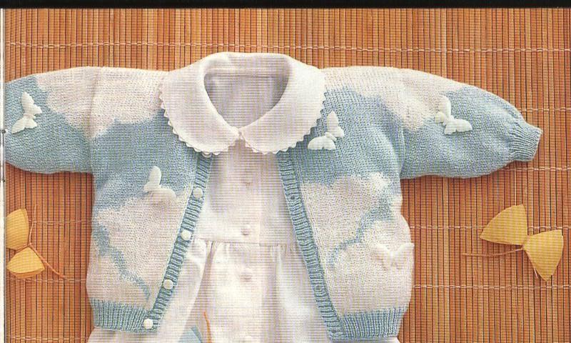 Patrones para tejer ropa de bebés