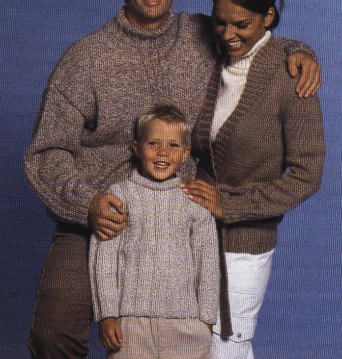 Patrones para tejer una chaqueta de punto :: Chaqueta con cinturón ...