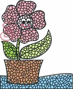 T cnica del mosaico para los m s peque os c mo hacer - Mosaicos de colores ...