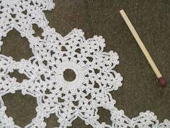 Free Pattern for Crochet Tablecloth
