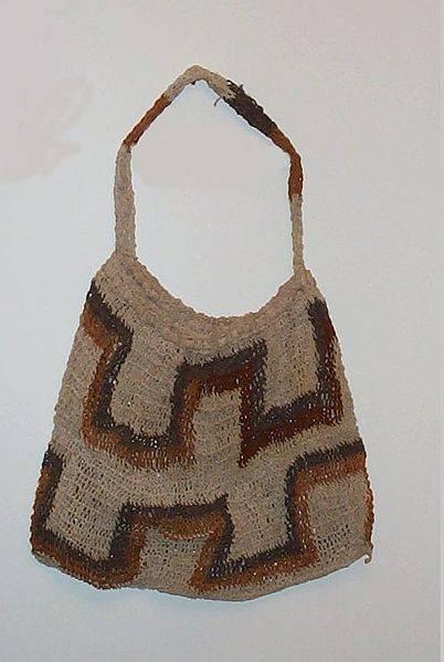has visto un bolso tejido a crochet y te encantaria tener uno igual si