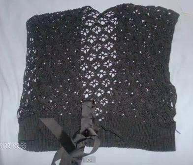 Cómo hacer chalecos tejidos a crochet