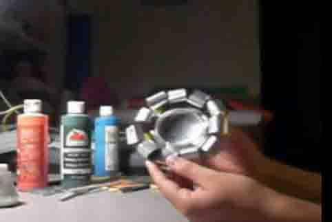 trabajos manuales con material reciclable: