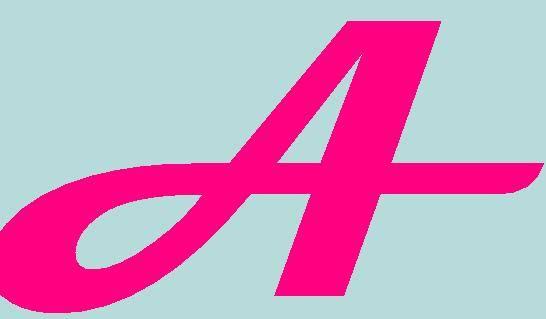 Punto de cruz: abecedario letras color