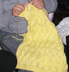 punto fantasía, aplicable a mantas de lana tejidas para bebés