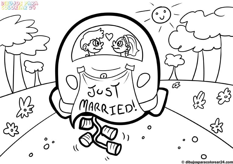 5 dibujos divertidos de novios para tarjetas de boda for Disegni matrimonio