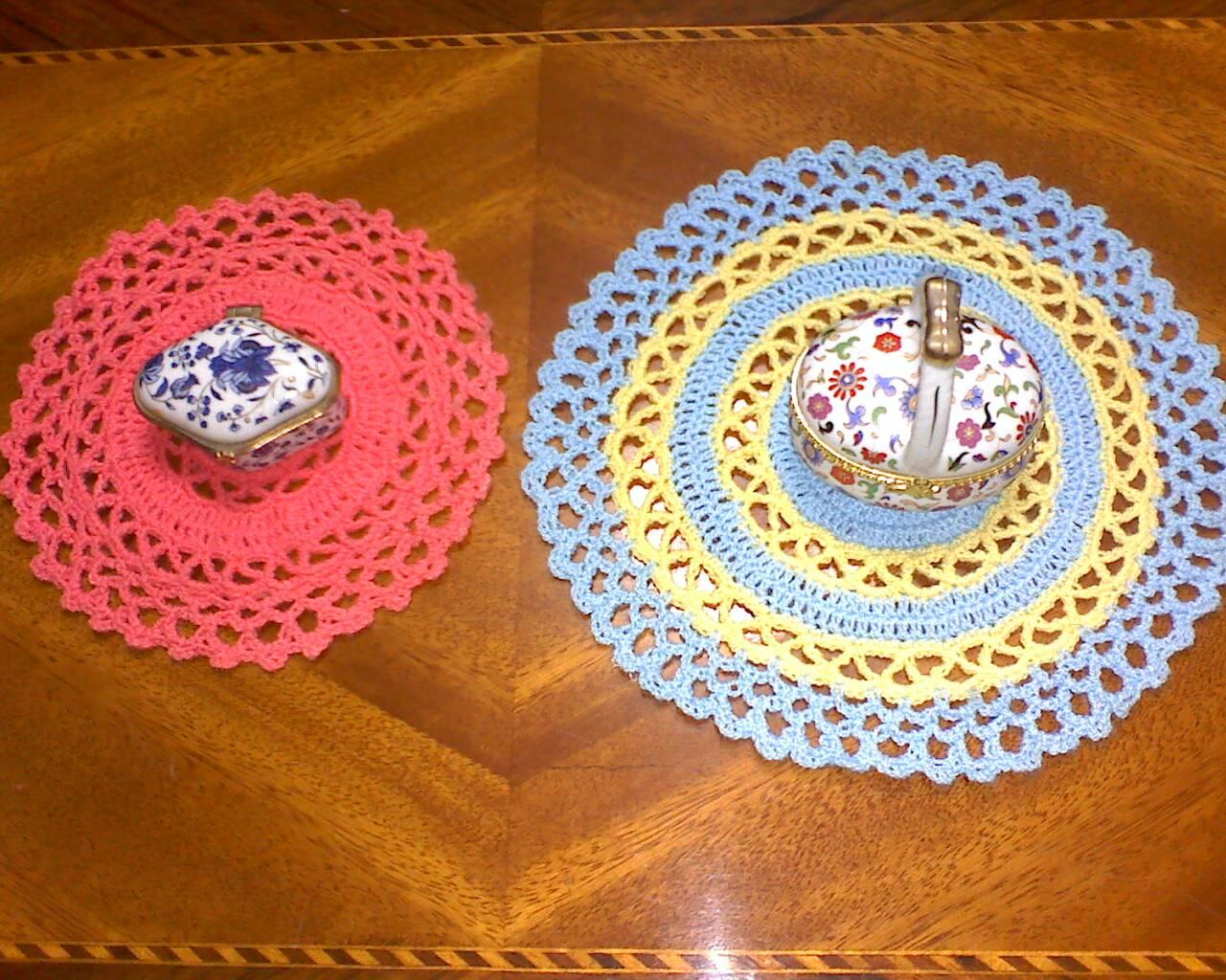 Como Hacer Tapetes De Crochet